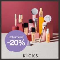 It´s all about the base! Pohjameikit -20% - Kicks