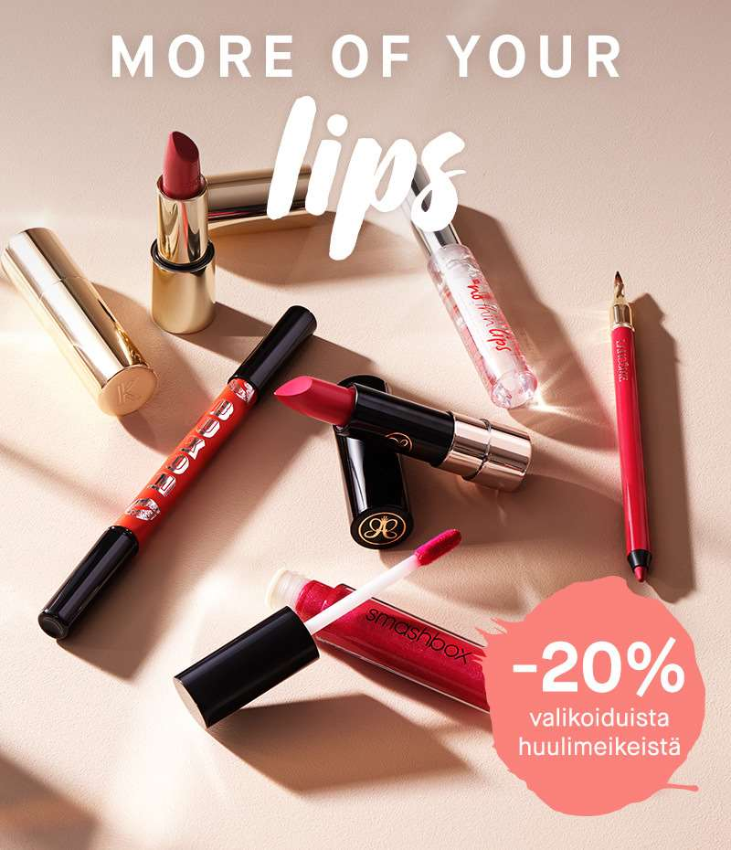 MORE OF YOUR LIPS- VALITUT HUULIMEIKIT -20% - Kicks