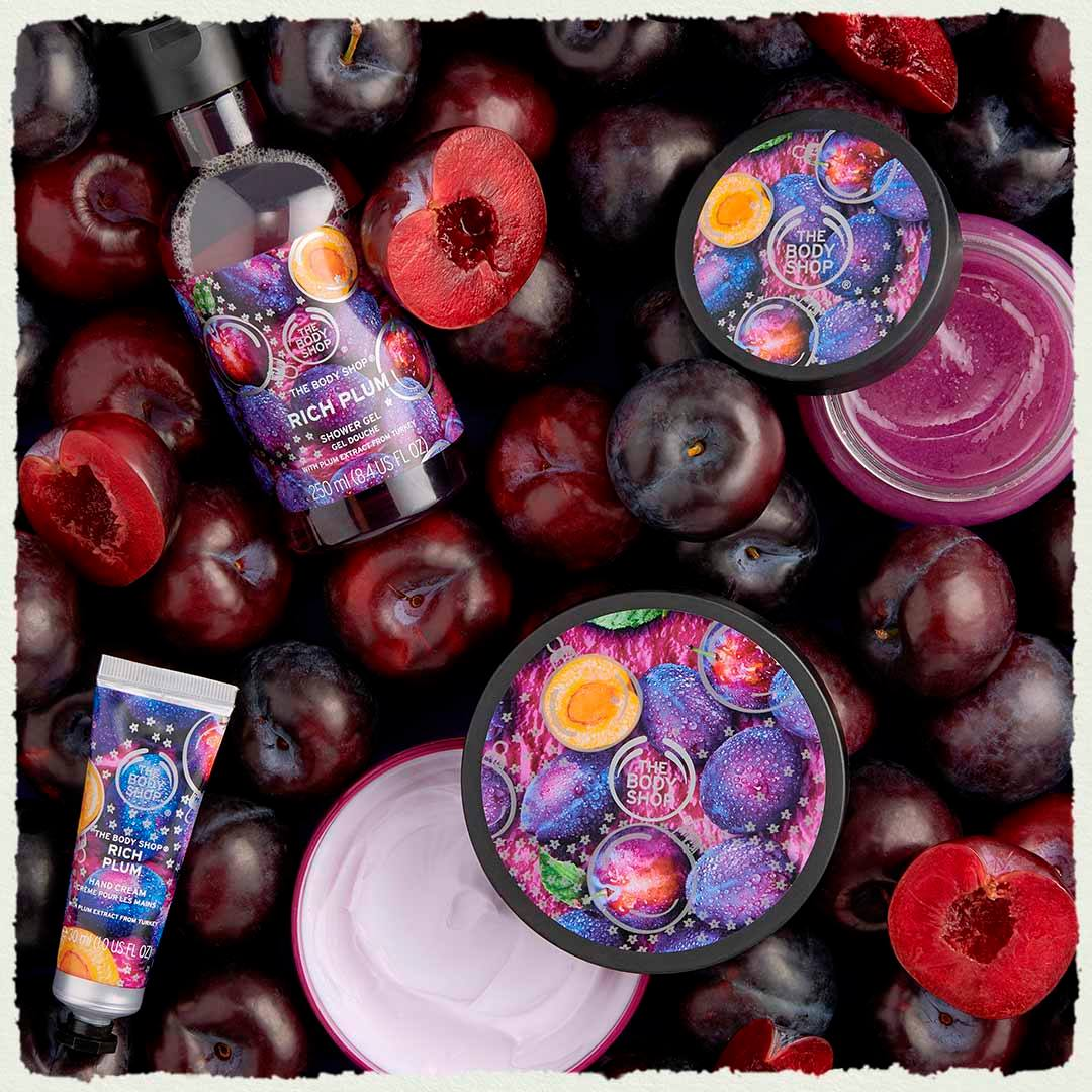 Rich Plum kausisarja - The Body Shop